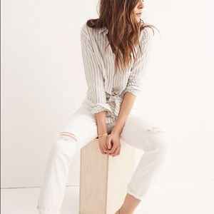 Madewell Perfect Summer High Rise Jeans